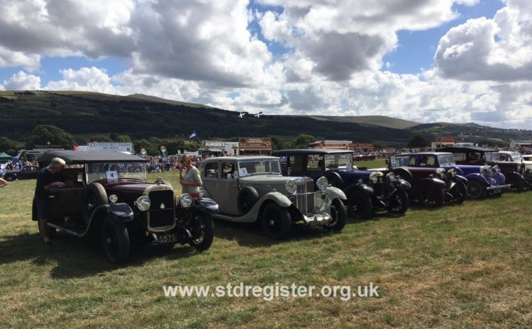 Vintage Sunbeams at the 2018 Okehampton Show