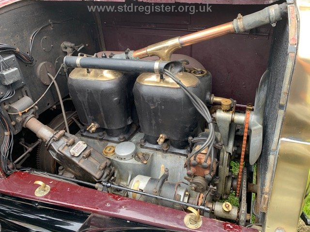 Talbot 25/50 engine offside