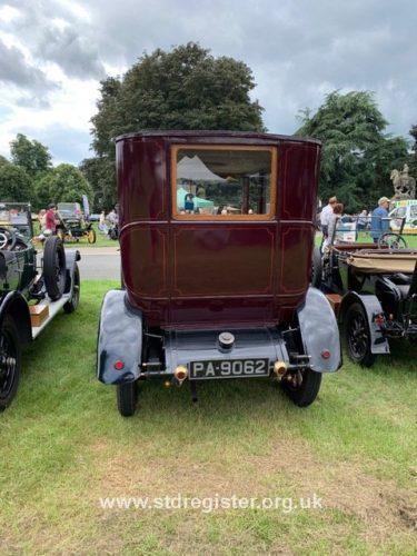 Talbot 25/50 limousine - rear view