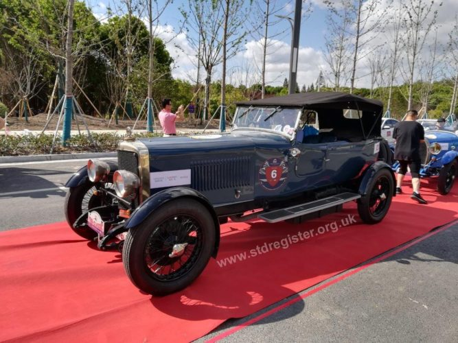 Red carpet treatment for the 3 litre Sunbeam in China